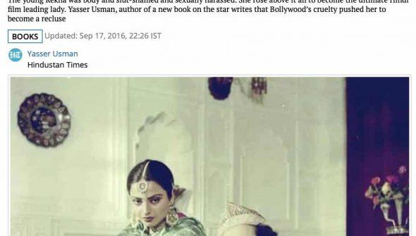 Rekha Bollywood Biography