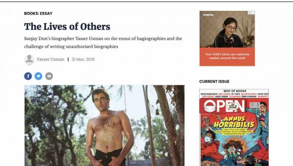 Yasser Usman Open Magazine